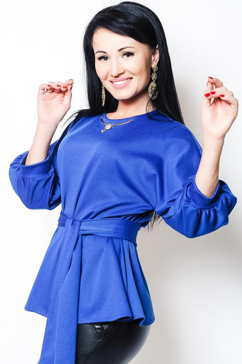 Жіноча блузка Бурштин, електрик