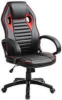 Кресло компьютерное HomeKraft Racer RS, кресло игровое, фото 1