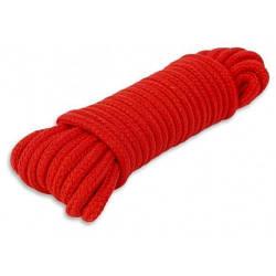 Верёвка для бондажа красная 10 м