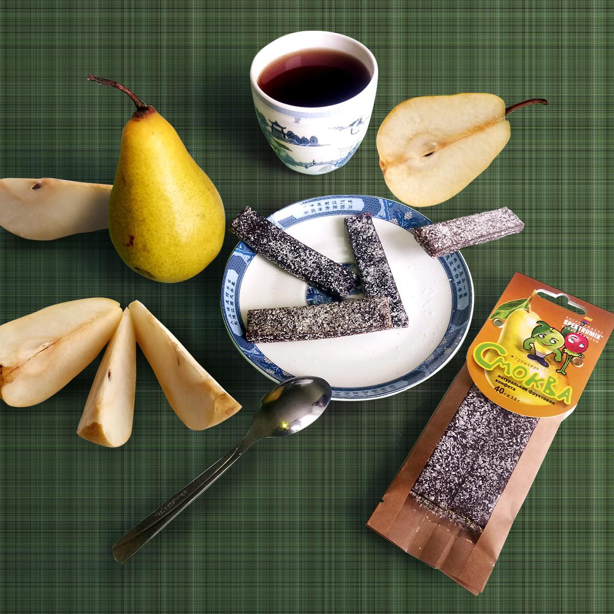 Натуральная фруктовая конфета «Смоква грушевая», 40 г