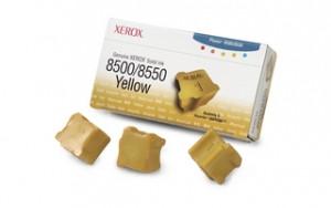 Брикеты твердочернильные Xerox PH8500/ 8550 Yellow
