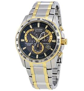 Мужские часы Citizen Perpetual Chrono A-T AT4004-52E