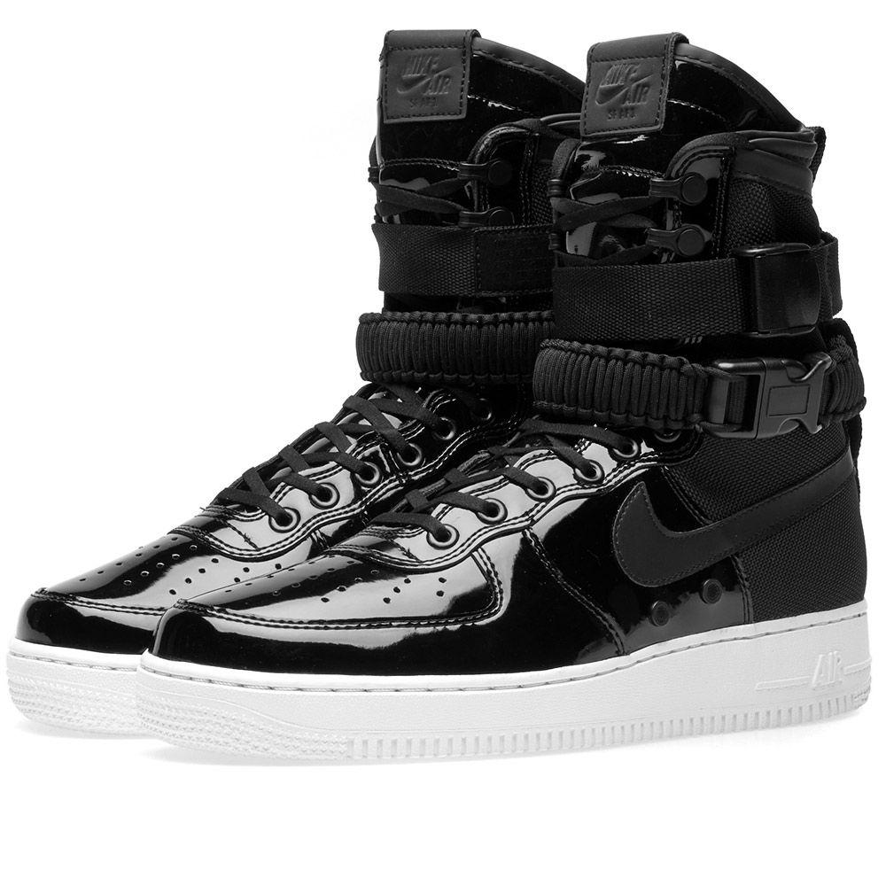 bf15c5d19b8c6b Оригинальные кроссовки Nike SF Air Force 1 SE Premium W Black -  Sport-Sneakers -
