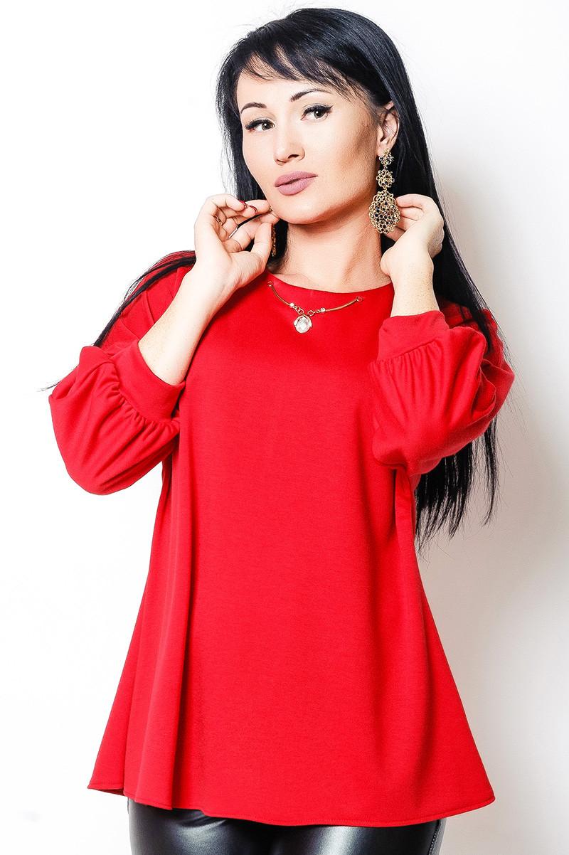 """Червона блузка """"Янтар"""""""