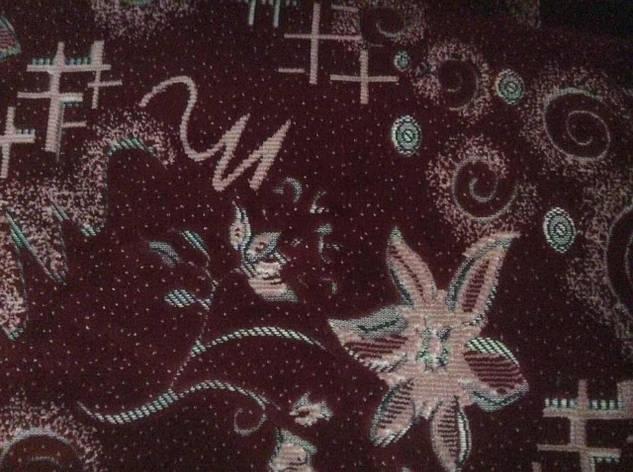 Комплект покрывал Цветочек из гобелена на диван 160*260 и кресла 160*160, фото 2