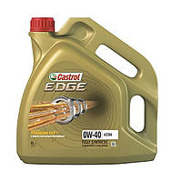 Моторное масло Castrol EDGE (Кастрол) 0w-40 4л