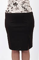Юбка женская, модель OV-046. Цвет чёрный.
