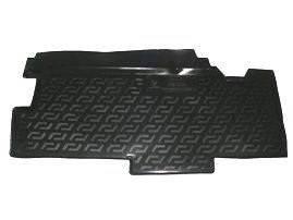 Полиэтиленовый коврик в багажник ГАЗ 2705 (Газель 7 мест.2-й ряд сидений) (L.Locker.)