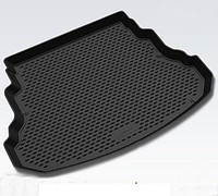 Полиэтиленовый коврик в багажник Audi A 4 s/n (03-07) (L.Locker)