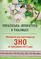 Українська література в таблицях. Шпільчак М