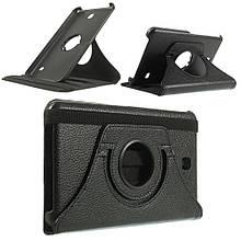 Чехол 360 Градусов Leather для Samsung Galaxy Tab 4 7.0 черный