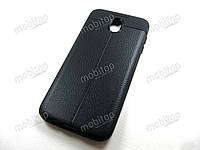 TPU чехол Auto Focus Samsung Galaxy J7 2017 J730 (черный), фото 1