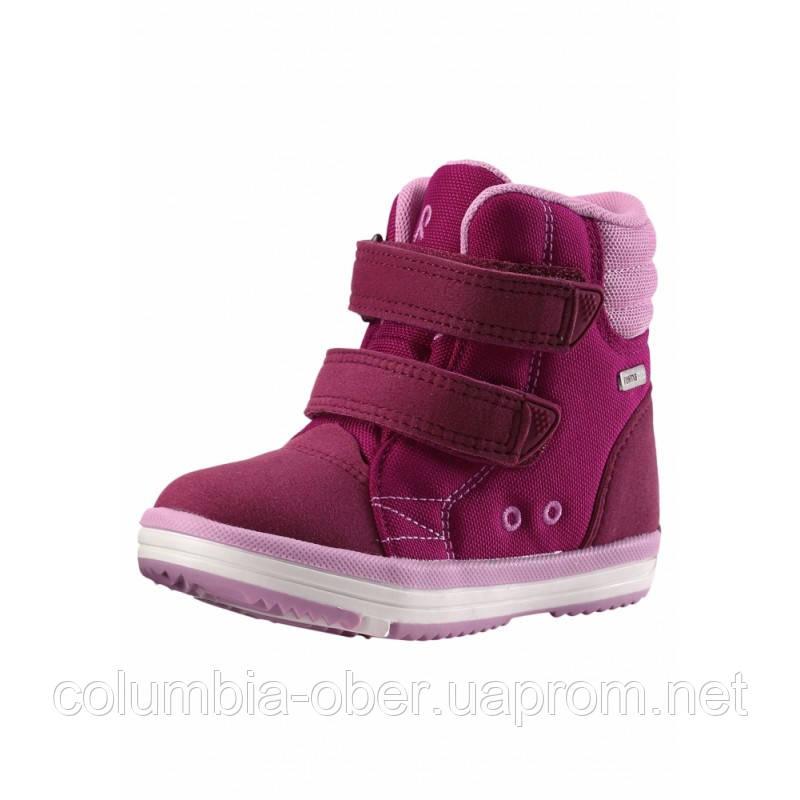 Демисезонные ботинки для девочки Reimatec Patter Wash 569344-3920. Размеры 23  - 35.