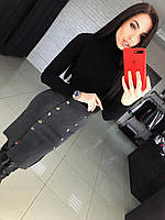 Женская вязаная юбка АП-569