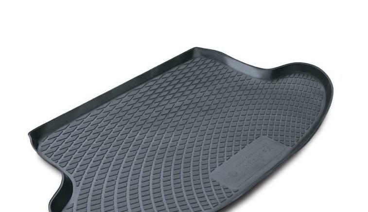 Полиэтиленовый коврик в багажник Nissan Note hb (06-) верхний (L.Locke