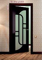 Межкомнатные двери с покрытием ПВХ серия Elegance, фото 1