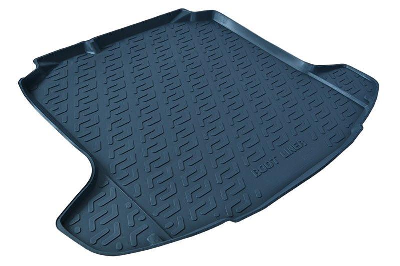 Полиэтиленовый коврик в багажник Ssang Yong Actyon (11-) (L.Locker)