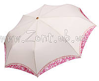 Женский зонт Три Слона Кимоно молочный ( полный автомат ) арт.210-2
