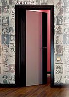 Межкомнатные двери стекло триплекс с покрытием ПВХ серия Верона