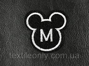 Нашивка Символ Микки 50x50 мм