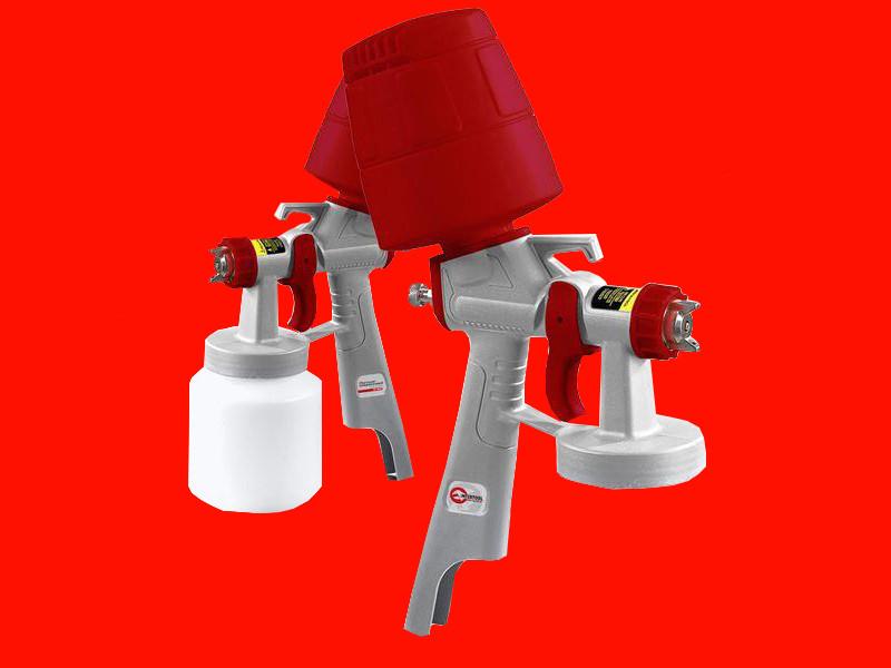 Электрический краскопульт Intertool DT-5045