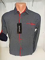 Рубашка мужская оптом. Рубашка стрейч