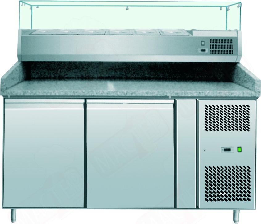Стол холодильный для пиццы Amitek AK2600TN+AK15033