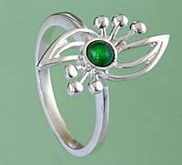 Срібний перстень з хризопразом