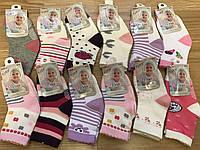 Носки для девочек детские с тормозами 1-3 года