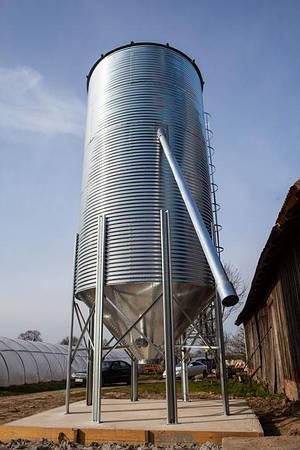 Силос для зерна 16 т с конусным дном