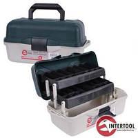 Ящик двухполочный INTERTOOL BX-6116 16 400*205*190