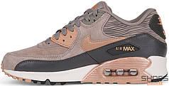 Женские кроссовки Nike Air Max 90 LTR Iron Metallic, Найк Аир Макс 90