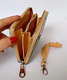 Женский кошелёк Париж на молнии размер S с отделением для телефона 13*9*2 см, фото 2