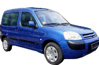 Рейлинги Citroen Berlingo (до 2008 г.)