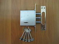 Замок врезной S.D. 362 RL CP для мет. дверей (аналог Гардиана 10.01) хром Doganlar
