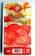 Нарезка колбаса салями La Bottega Del Gusto Salame Milano, 150гр (Италия)