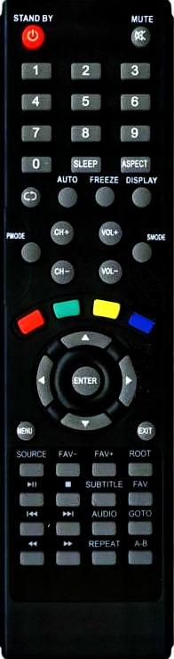 Пульт Digital  DLE-4011,DLE-3210 (LED TV) (CE)