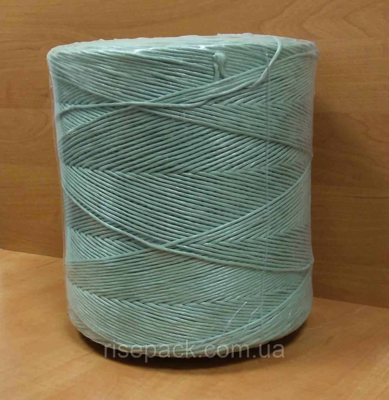 Шпагат полипропиленовый плетеный (цветной, вторичный пп) для упаковки, обвязки