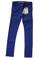 Брюки стрейчевые синие для девочки 140см 10лет Sergent Major Франция