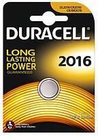 Батарейка Duracell DL 2016 DSN Lithium