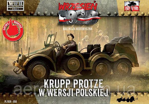KRUPP PROTZE 1/72 WRZESIEN 1939
