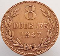 Гернси 8 дублей 1947