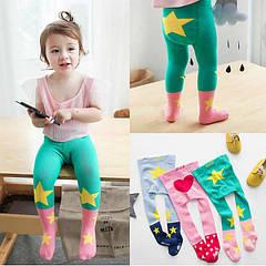 Размерная сетка на детские колготы и носки