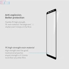 Противоударное стекло Full Screen Meizu M6 Note Black