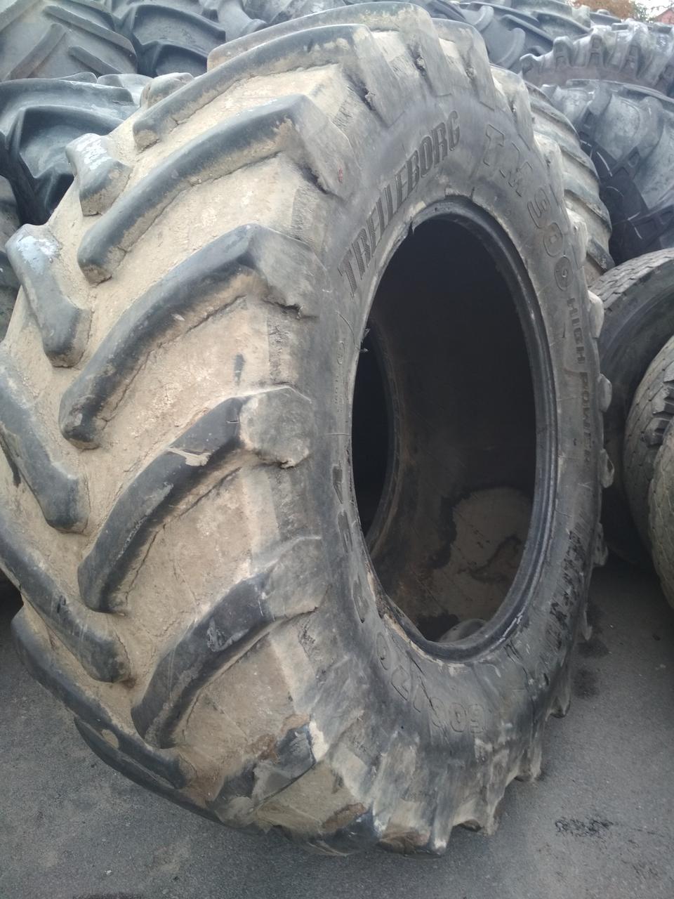 Шины б/у 600/70R34 Trelleborg для трактора FENDT