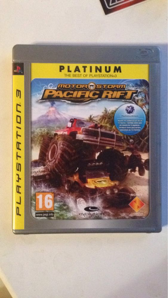 Видео игра Motorstorm pacific rift (PS3) рус.