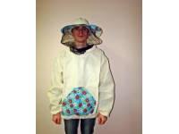 Куртка пчеловода с пришитой маской, 100% хлопок, размер 52-54