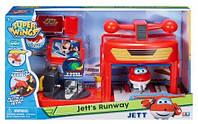 Игровой набор Супер Крылья Джетт и взлетная полоса