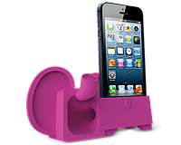 Аудиоусилитель для iPhone 5/5S - Ozaki O!music Zoo Elephant Pink