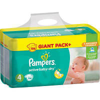 Подгузник Pampers Active Baby-Dry Maxi (8-14 кг) Упаковка 106 шт (8001090459336)